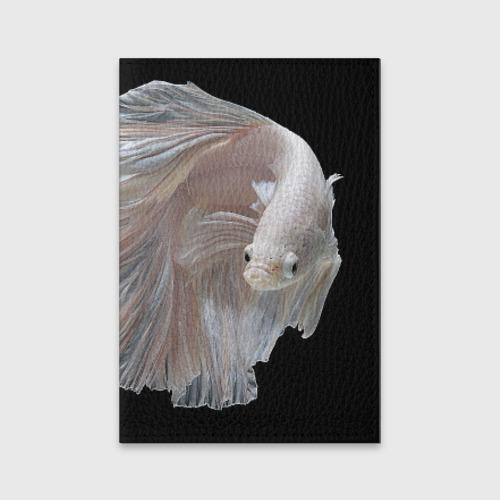 Обложка для паспорта матовая кожа  Фото 01, Бойцовая рыбка