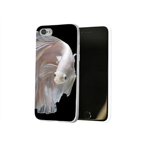 Чехол для Apple iPhone 8 силиконовый глянцевый  Фото 02, Бойцовая рыбка