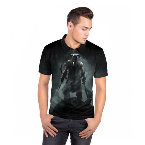 Мужская рубашка поло 3D  Фото 05, Skyrim