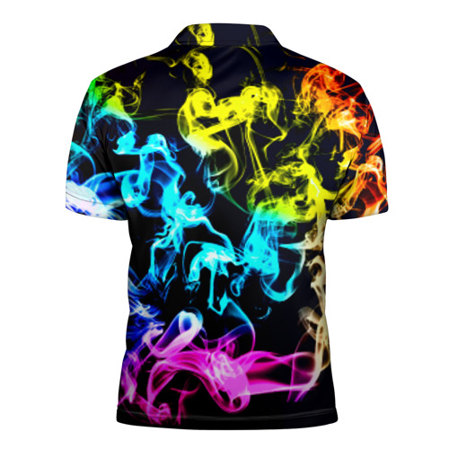 Мужская рубашка поло 3D  Фото 02, Дым