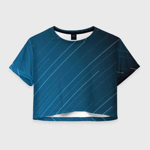 Женская футболка Cropp-top Lines Фото 01