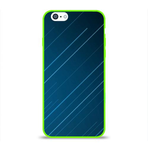 Чехол для Apple iPhone 6 силиконовый глянцевый Lines Фото 01