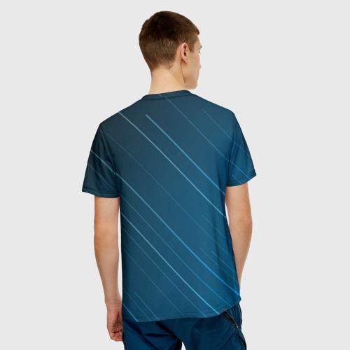 Мужская футболка 3D Lines Фото 01