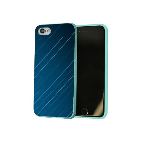 Чехол для Apple iPhone 8 силиконовый глянцевый Lines Фото 01