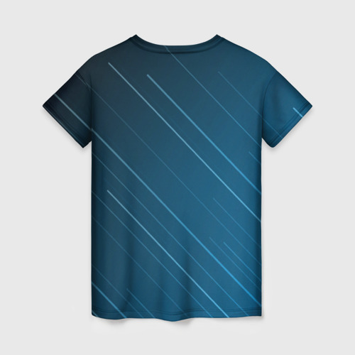 Женская футболка 3D Lines Фото 01