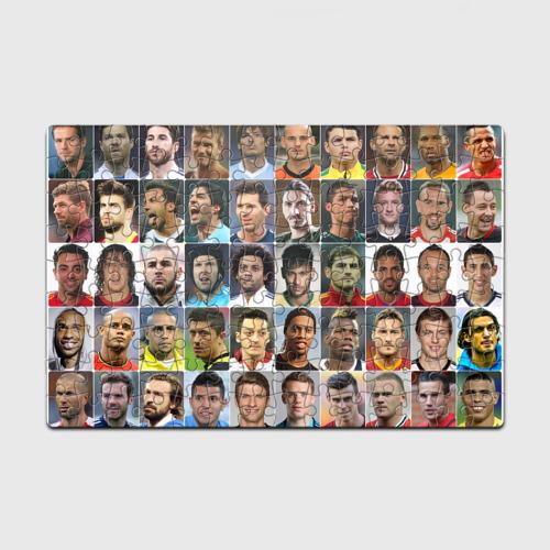 Пазл магнитный 126 элементов Лучшие футболисты