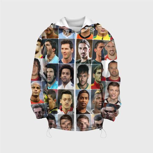 Детская куртка 3D  Фото 01, Лучшие футболисты