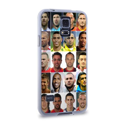 Чехол для Samsung Galaxy S5 силиконовый  Фото 02, Великие футболисты