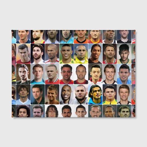 Холст прямоугольный  Фото 02, Великие футболисты