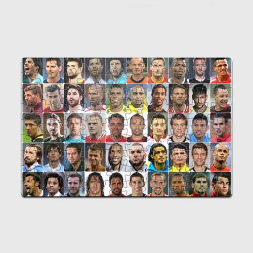 Пазл магнитный 126 элементов Великие футболисты