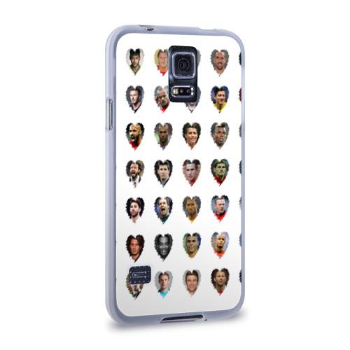 Чехол для Samsung Galaxy S5 силиконовый  Фото 02, Любимые футболисты