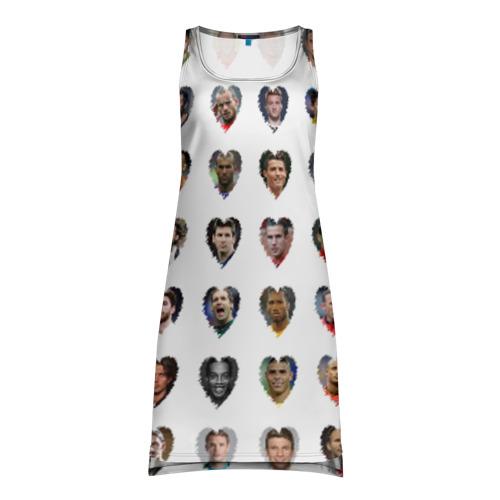 Платье-майка 3D Любимые футболисты