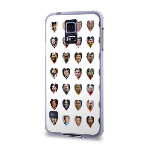 Чехол для Samsung Galaxy S5 силиконовый  Фото 03, Любимые футболисты
