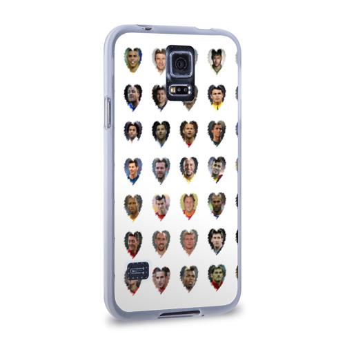 Чехол для Samsung Galaxy S5 силиконовый  Фото 02, Величайшие футболисты