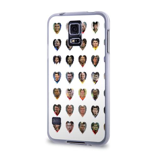 Чехол для Samsung Galaxy S5 силиконовый  Фото 03, Величайшие футболисты
