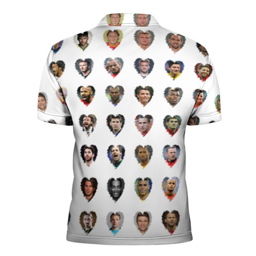 Мужская рубашка поло 3D  Фото 02, Величайшие футболисты