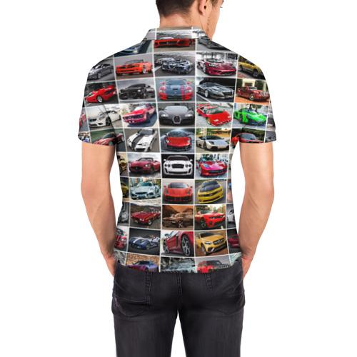 Мужская рубашка поло 3D  Фото 04, Крутые тачки