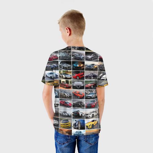 Детская футболка 3D  Фото 02, Крутые тачки