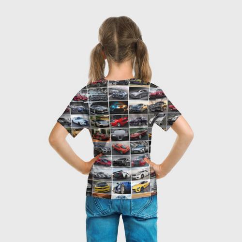 Детская футболка 3D  Фото 04, Крутые тачки