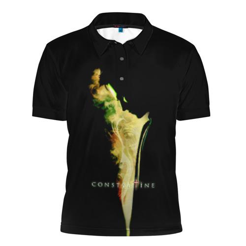 Мужская рубашка поло 3D  Фото 01, Constantine