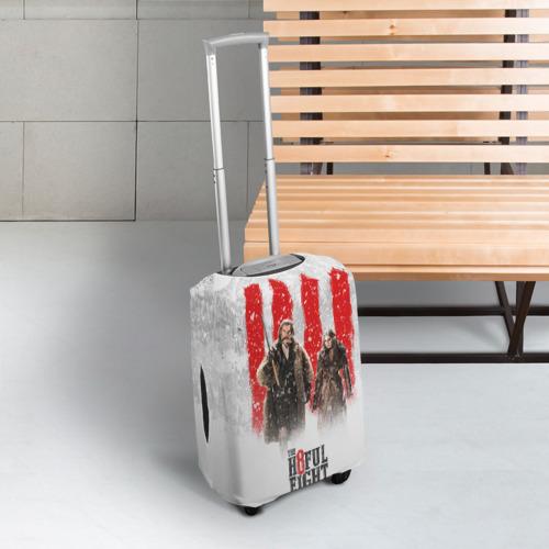 Чехол для чемодана 3D Восьмерка Фото 01