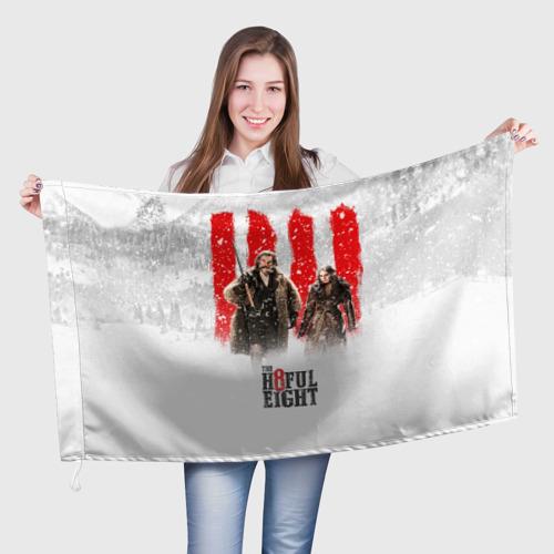 Флаг 3D Восьмерка Фото 01