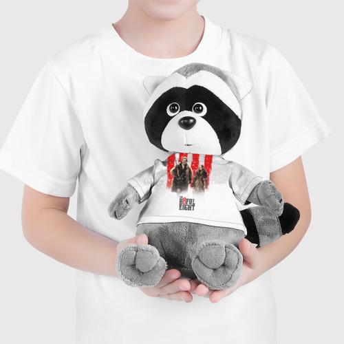Енотик в футболке 3D Восьмерка Фото 01