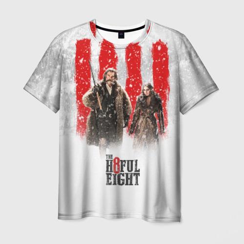 Мужская футболка 3D Восьмерка