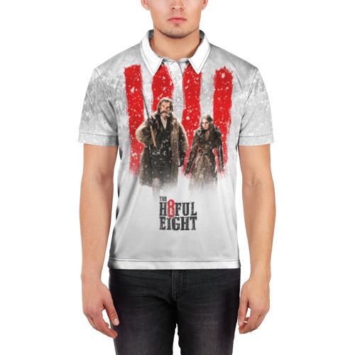 Мужская рубашка поло 3D  Фото 03, Восьмерка