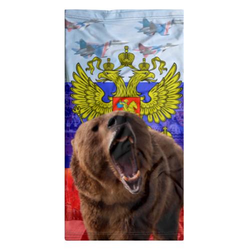 картинки российский флаг с медведем на телефон формат
