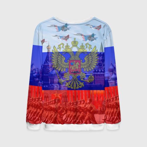 Мужской свитшот 3D Русский медведь и герб Фото 01