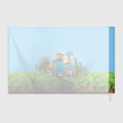 Флаг 3D  Фото 02, Minecraft