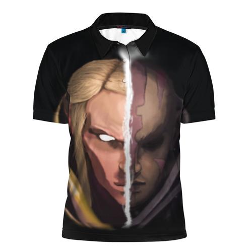 Мужская рубашка поло 3D  Фото 01, INVOKER/antimag