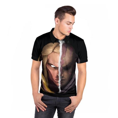 Мужская рубашка поло 3D  Фото 05, INVOKER/antimag