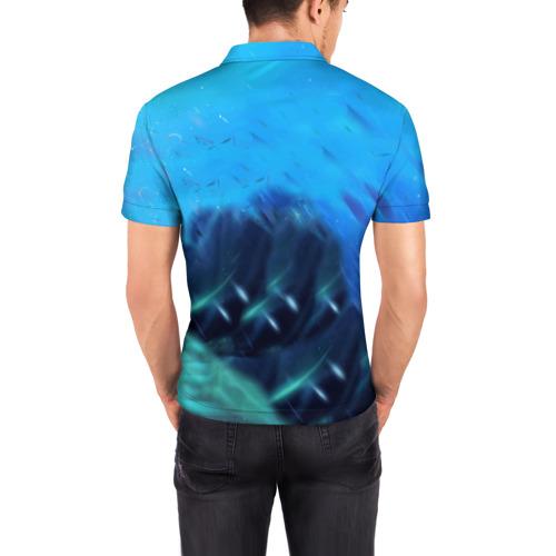 Мужская рубашка поло 3D  Фото 04, SLARDAR
