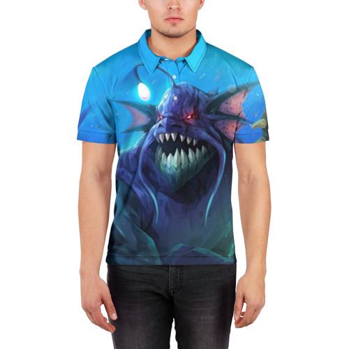 Мужская рубашка поло 3D  Фото 03, SLARDAR