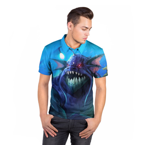 Мужская рубашка поло 3D  Фото 05, SLARDAR