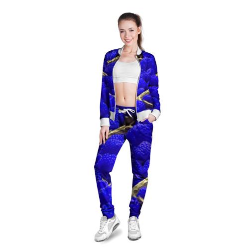 Женская олимпийка 3D  Фото 03, Ягода малина