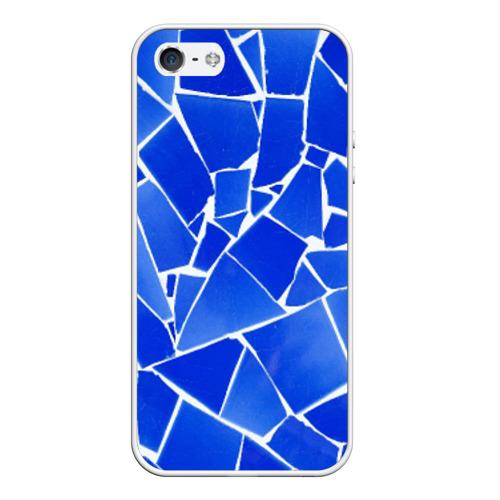 Чехол силиконовый для Телефон Apple iPhone 5/5S Битое стекло от Всемайки