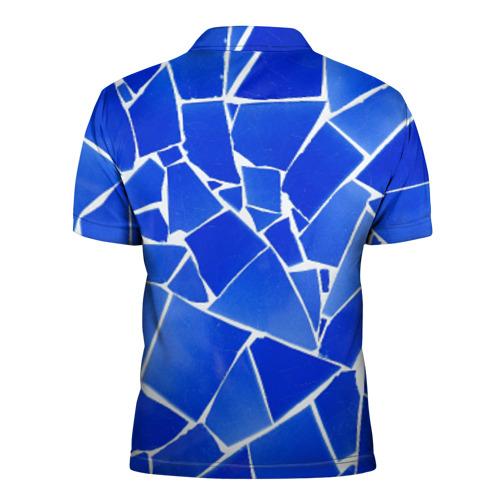 Мужская рубашка поло 3D  Фото 02, Битое стекло