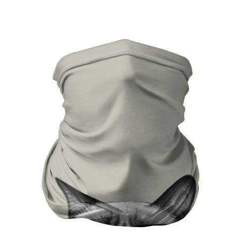 Бандана-труба 3D Кот - хипстер