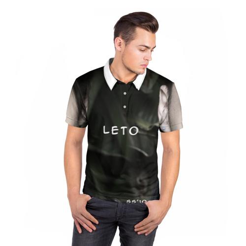 Мужская рубашка поло 3D  Фото 05, Лето