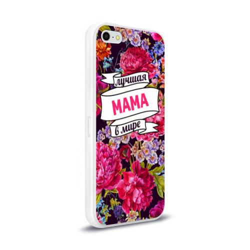 Чехол для Apple iPhone 5/5S силиконовый глянцевый  Фото 02, Маме