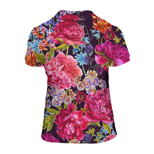 Женская рубашка поло 3D  Фото 02, Дочке
