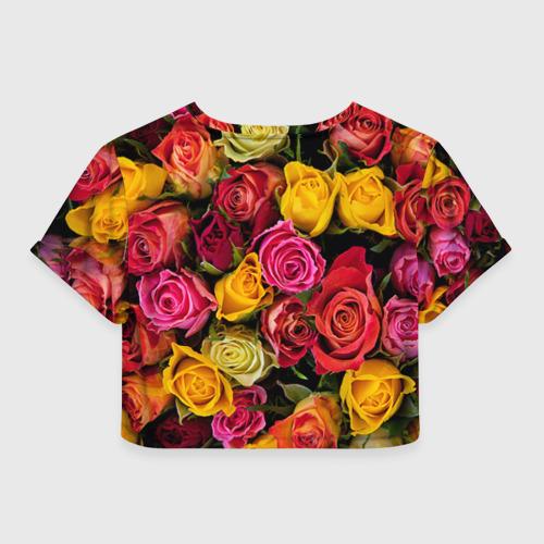 Женская футболка 3D укороченная  Фото 02, Бабушке