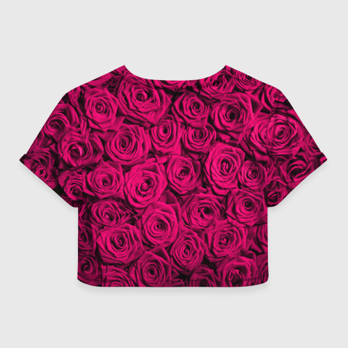 Женская футболка 3D укороченная  Фото 02, Дочке
