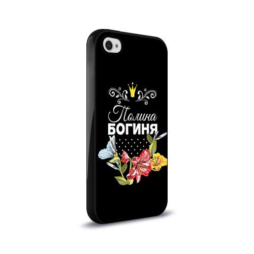 Чехол для Apple iPhone 4/4S силиконовый глянцевый  Фото 02, Богиня Полина
