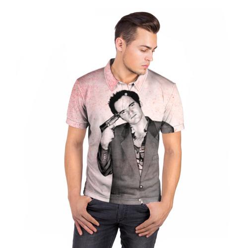 Мужская рубашка поло 3D  Фото 05, Тарантино