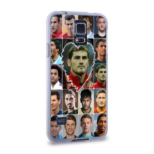 Чехол для Samsung Galaxy S5 силиконовый  Фото 02, Икер Касильяс - лучший