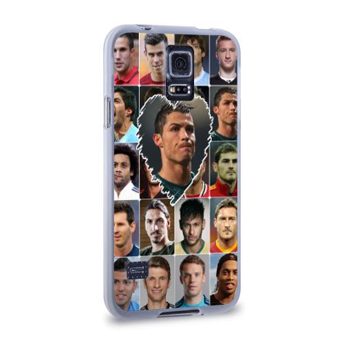 Чехол для Samsung Galaxy S5 силиконовый  Фото 02, Криштиану Роналду - лучший